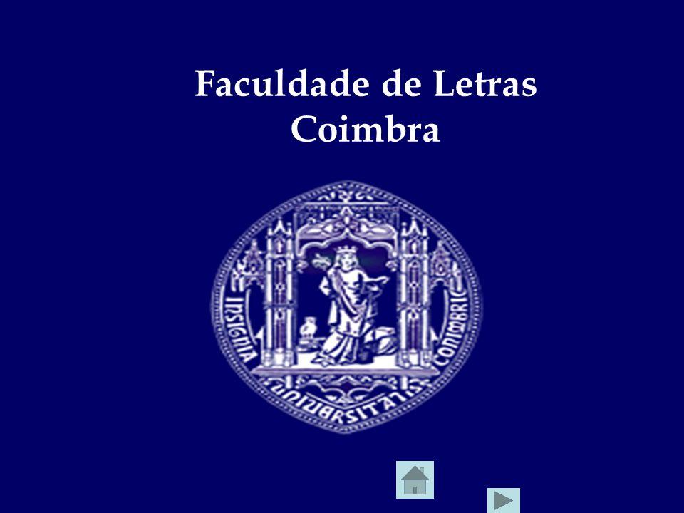 Faculdade de Letras Coimbra