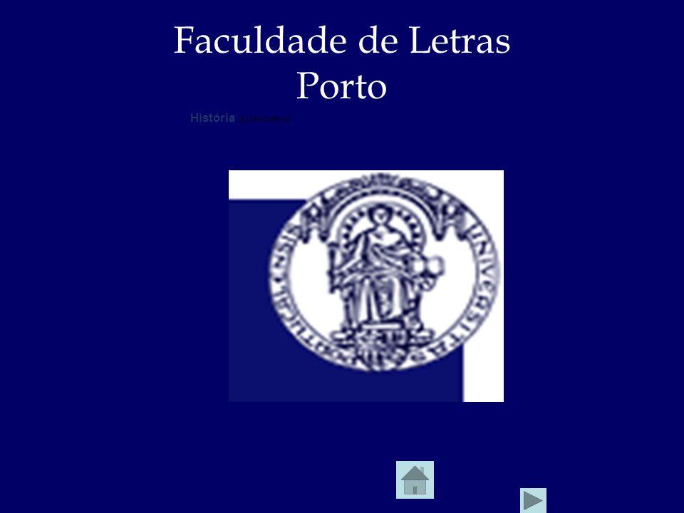 Faculdade de Letras Porto