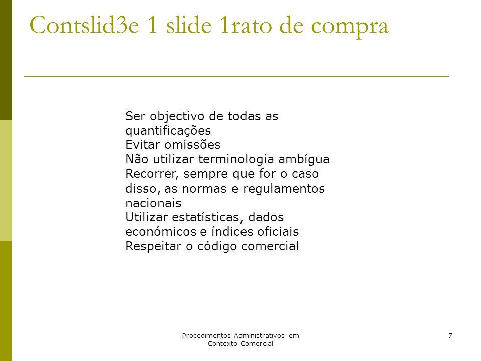 Contslid3e 1 slide 1rato de compra