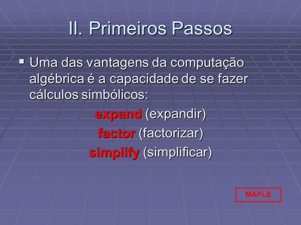 simplify (simplificar)