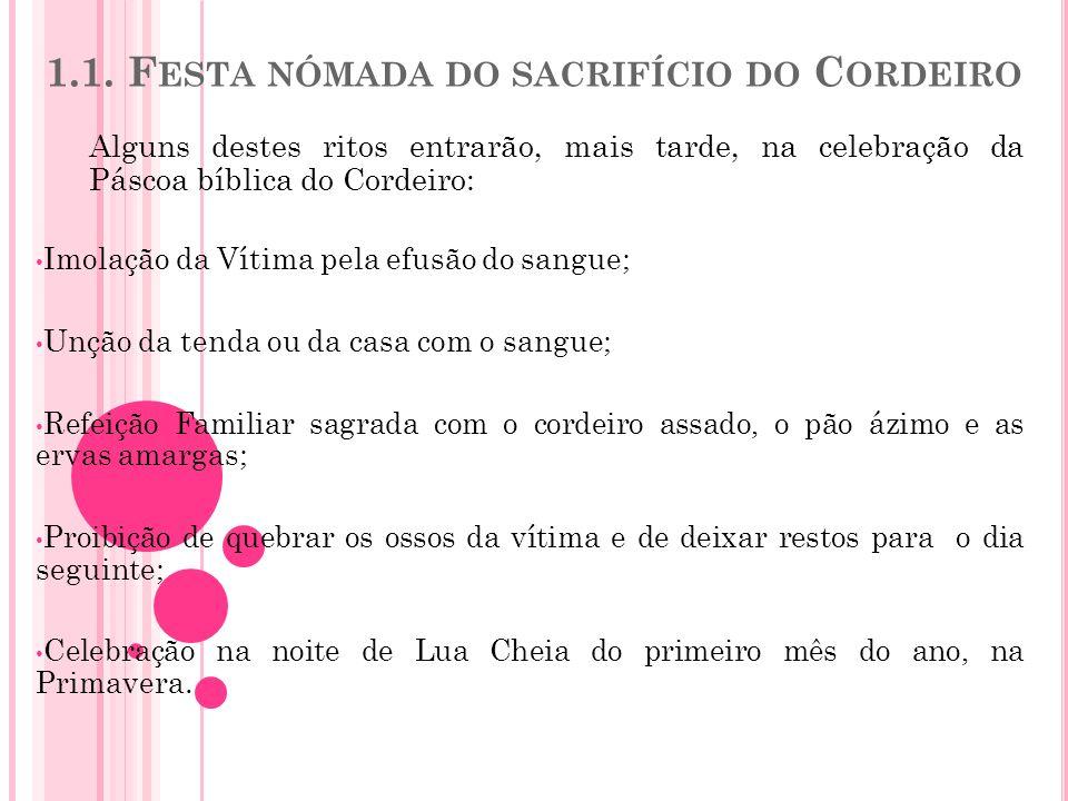 1.1. Festa nómada do sacrifício do Cordeiro