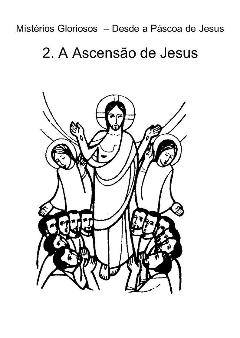 Mistérios Gloriosos – Desde a Páscoa de Jesus 2. A Ascensão de Jesus