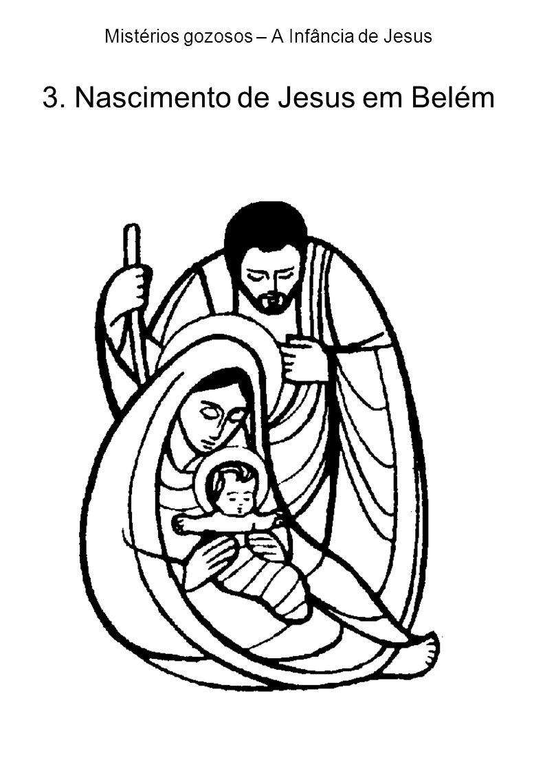 Mistérios gozosos – A Infância de Jesus 3. Nascimento de Jesus em Belém
