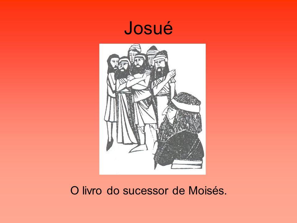 O livro do sucessor de Moisés.