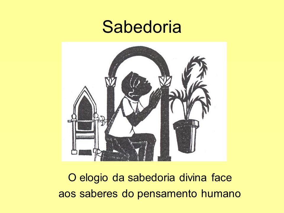 Sabedoria O elogio da sabedoria divina face