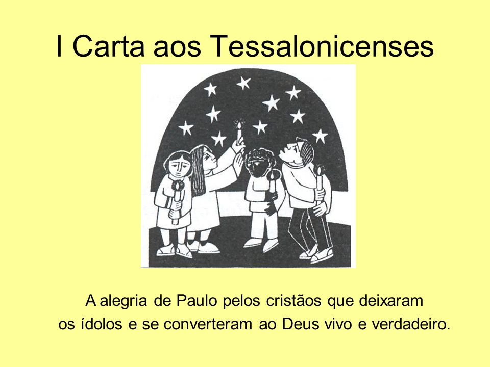 I Carta aos Tessalonicenses