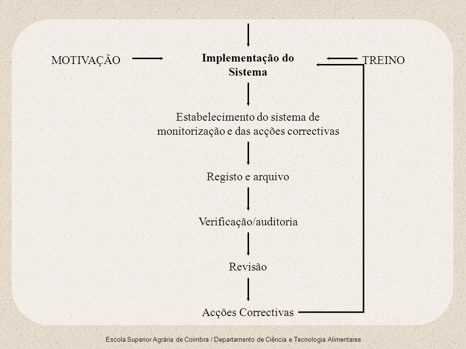 Implementação do Sistema
