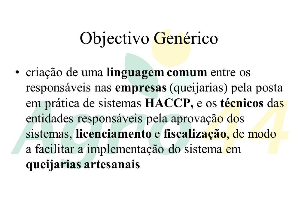 Objectivo Genérico
