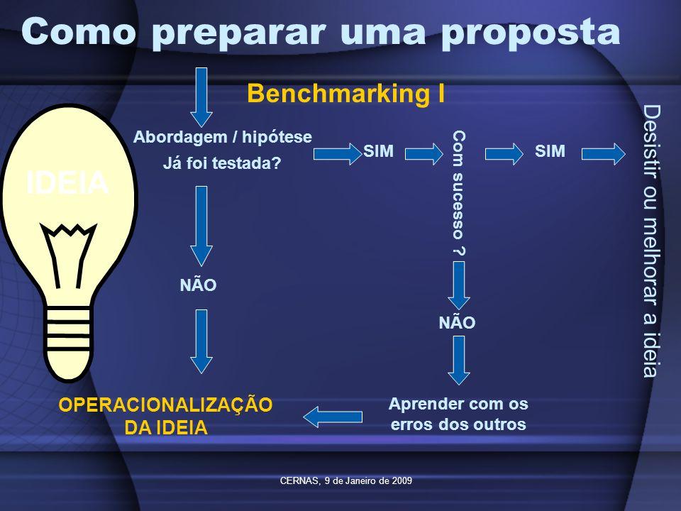Como preparar uma proposta