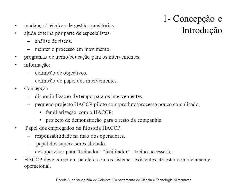 1- Concepção e Introdução