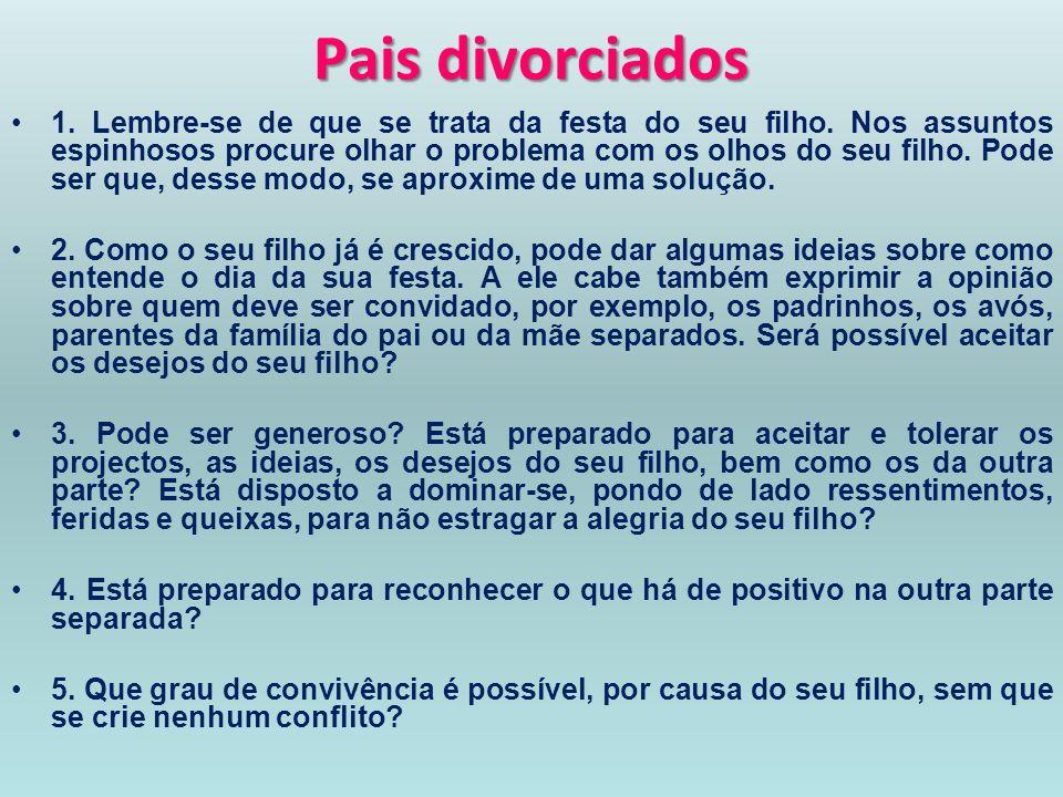Pais divorciados
