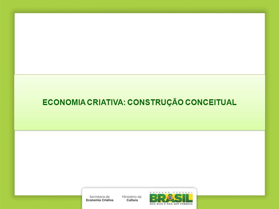 ECONOMIA CRIATIVA: CONSTRUÇÃO CONCEITUAL