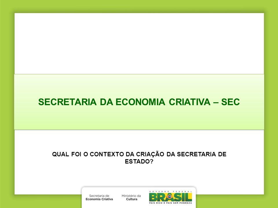 SECRETARIA DA ECONOMIA CRIATIVA – SEC