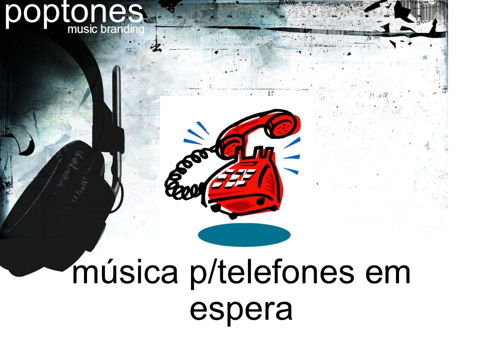 música p/telefones em espera