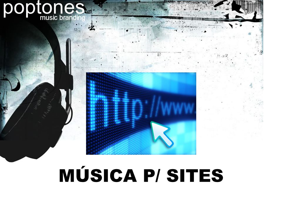 poptones music branding MÚSICA P/ SITES