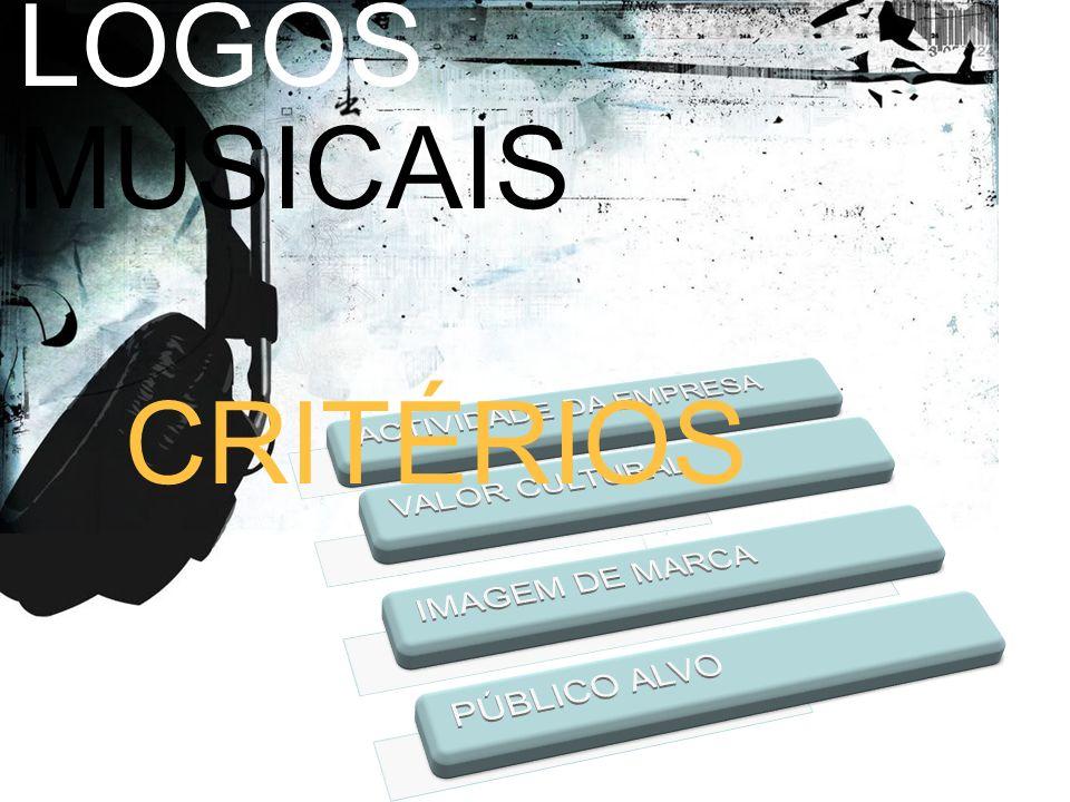 LOGOS MUSICAIS CRITÉRIOS ACTIVIDADE DA EMPRESA VALOR CULTURAL