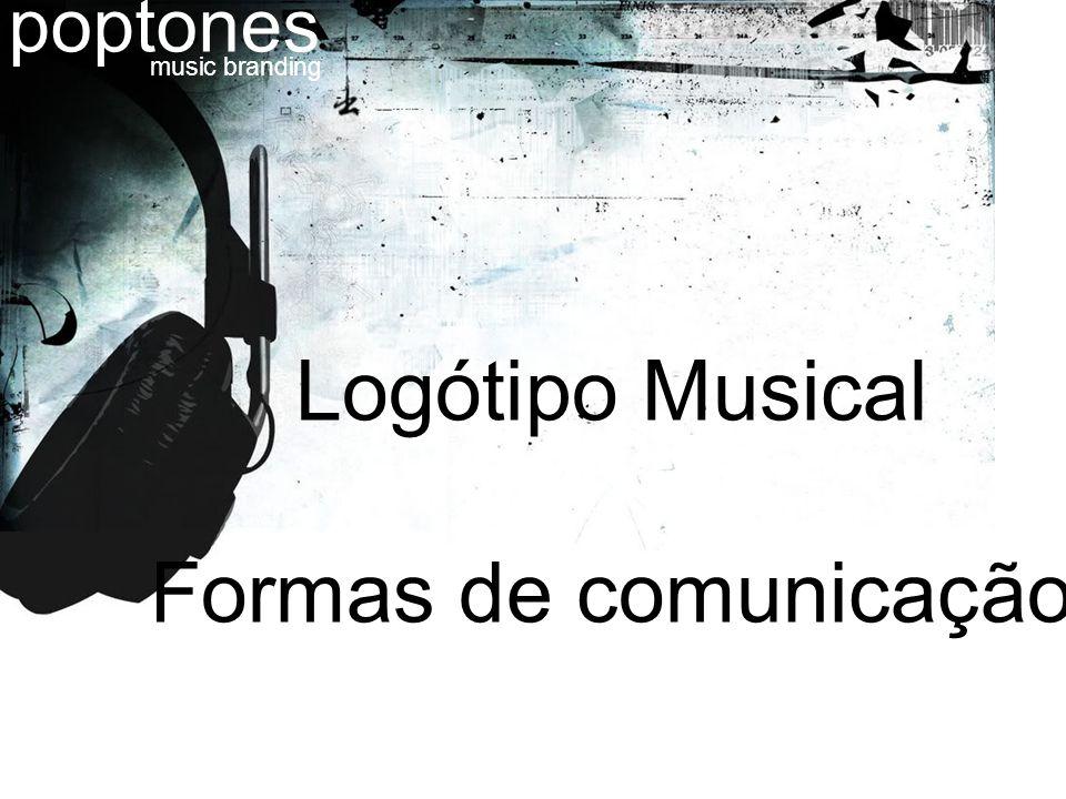 Logótipo Musical Formas de comunicação