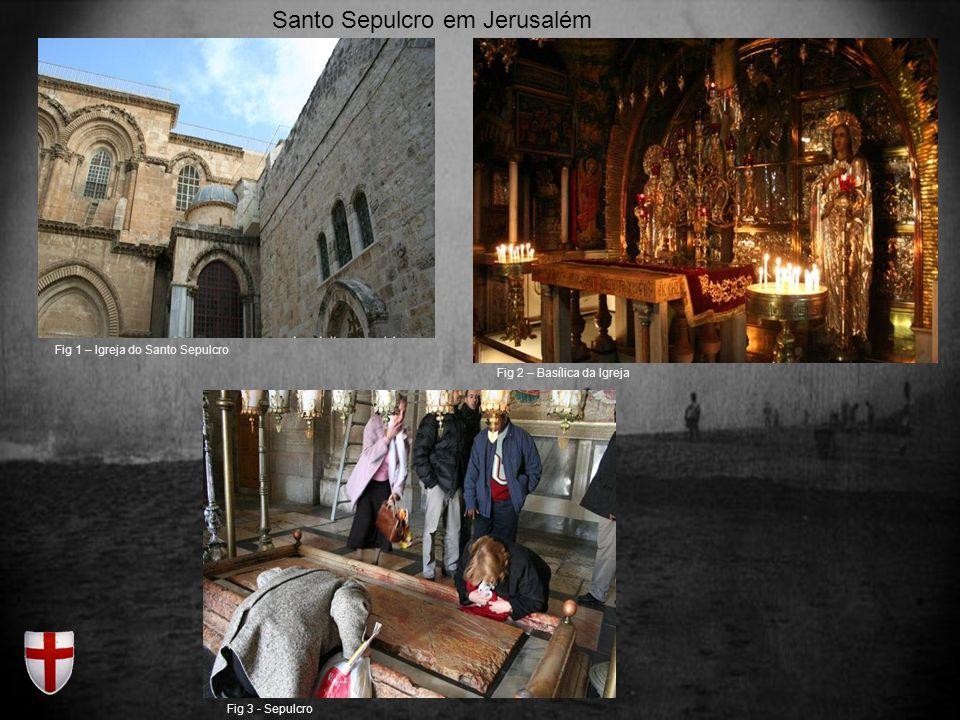 Santo Sepulcro em Jerusalém