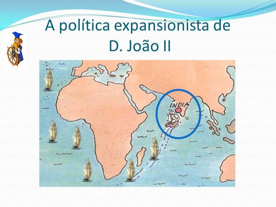 A política expansionista de D. João II