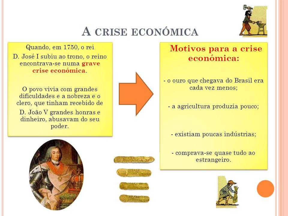 A crise económica