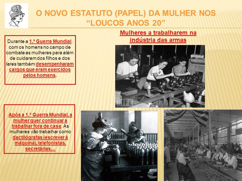 O NOVO ESTATUTO (PAPEL) DA MULHER NOS LOUCOS ANOS 20