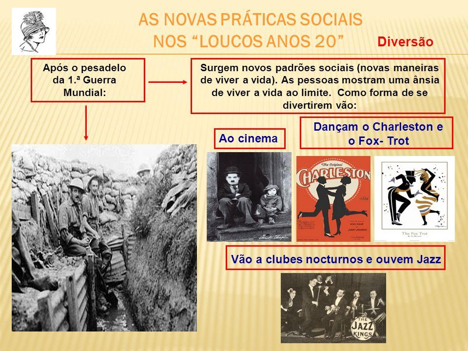 NOS LOUCOS ANOS 20 AS NOVAS PRÁTICAS SOCIAIS Diversão