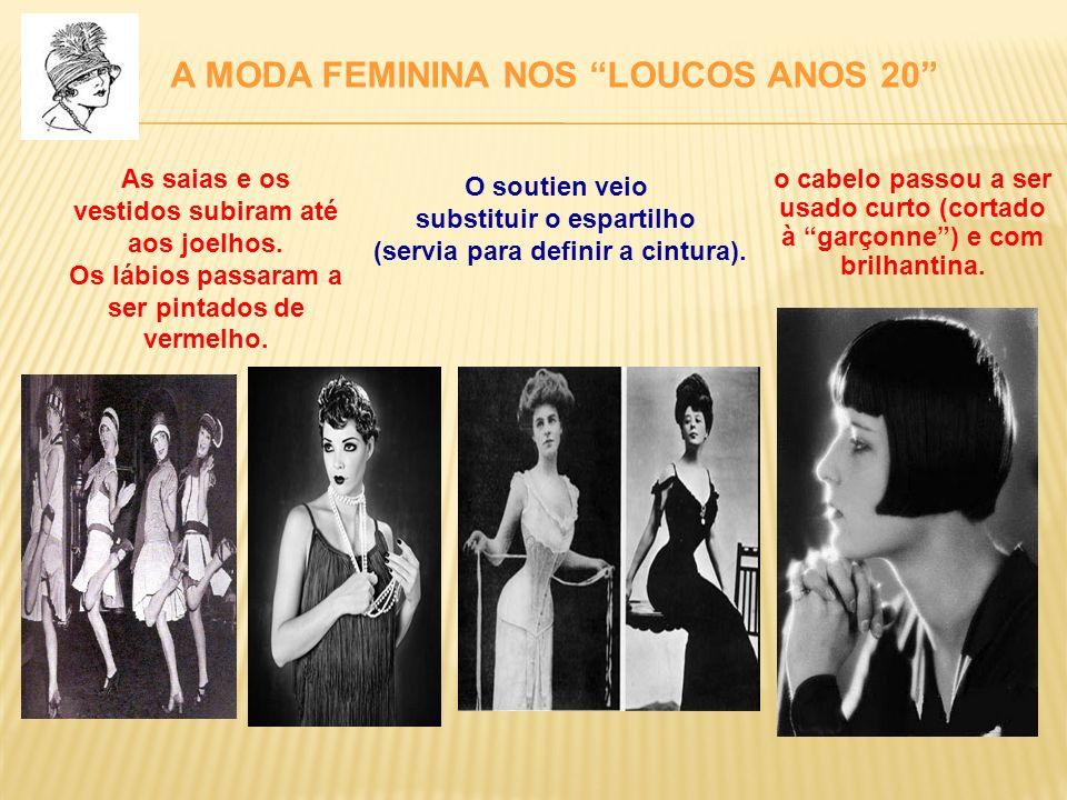 A MODA FEMININA NOS LOUCOS ANOS 20