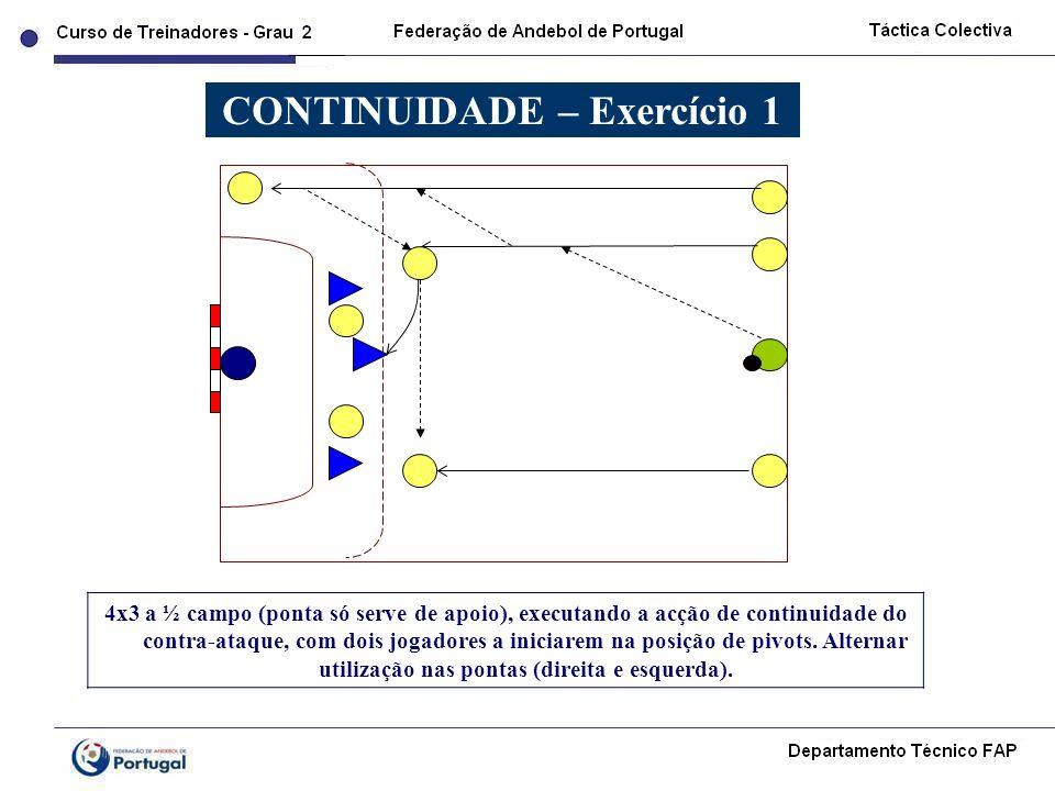 CONTINUIDADE – Exercício 1