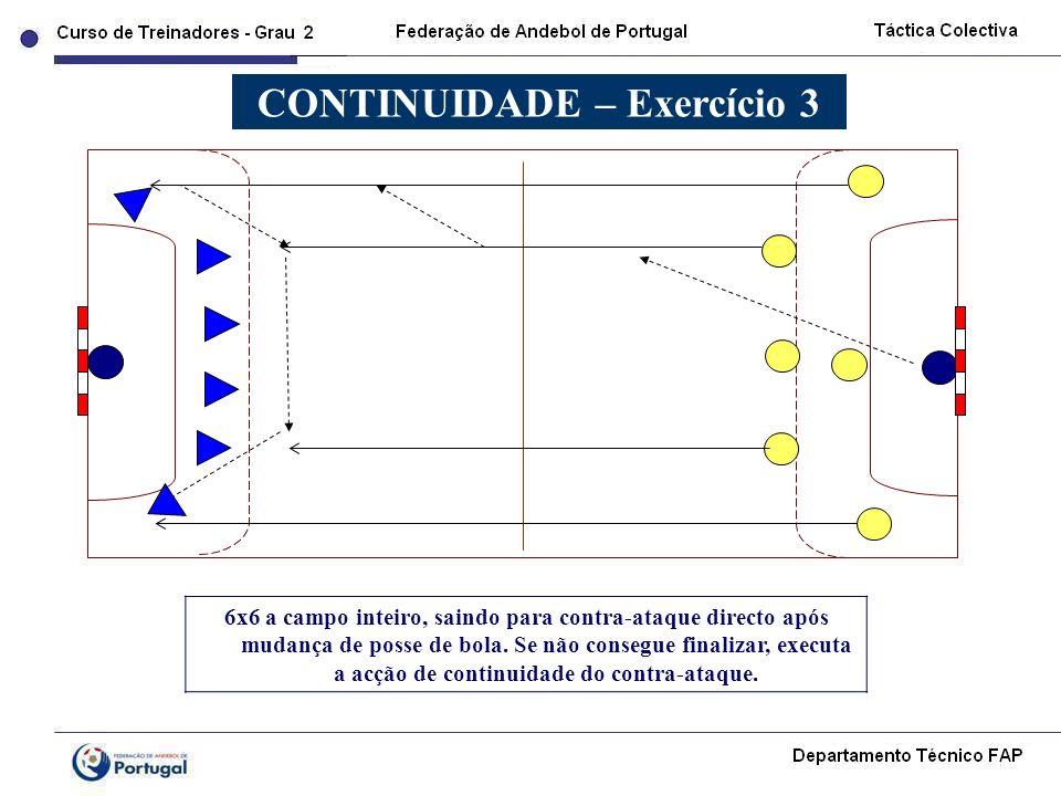 CONTINUIDADE – Exercício 3