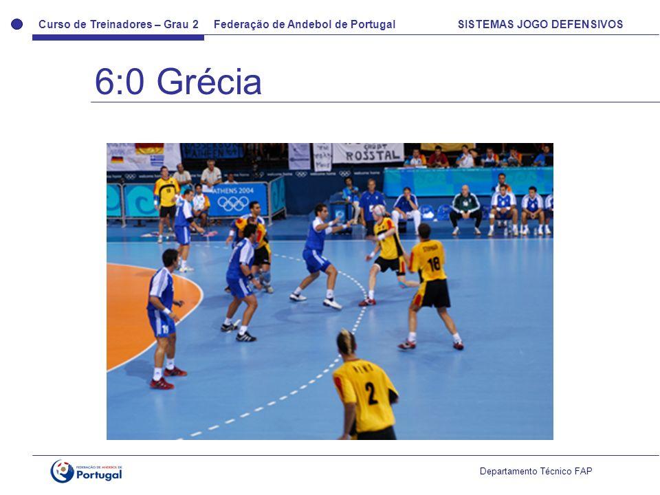6:0 Grécia