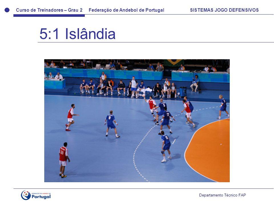 5:1 Islândia