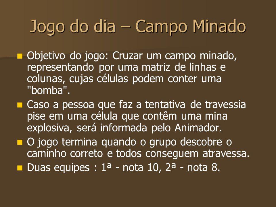 Jogo do dia – Campo Minado