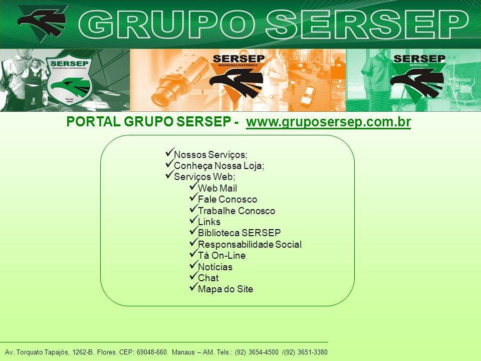 PORTAL GRUPO SERSEP - www.gruposersep.com.br