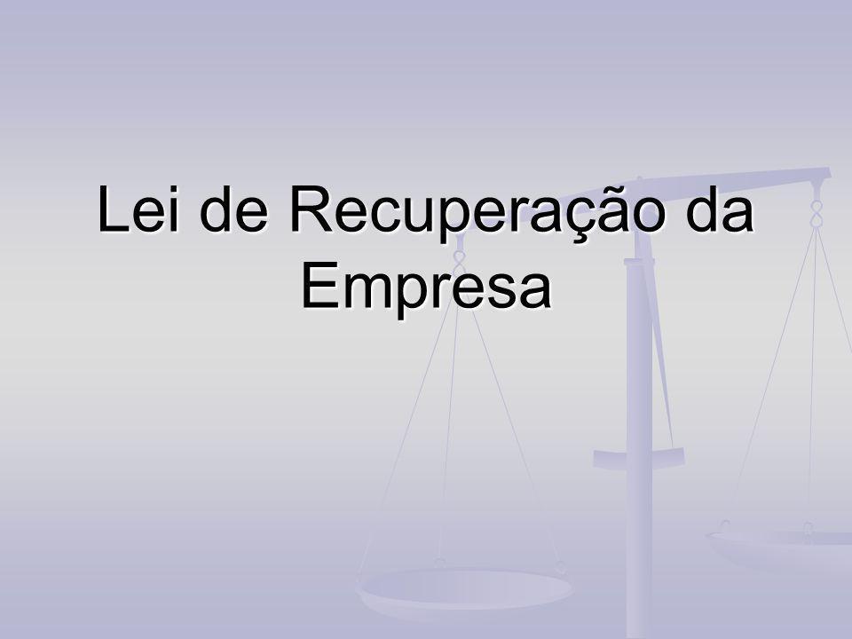 Lei de Recuperação da Empresa