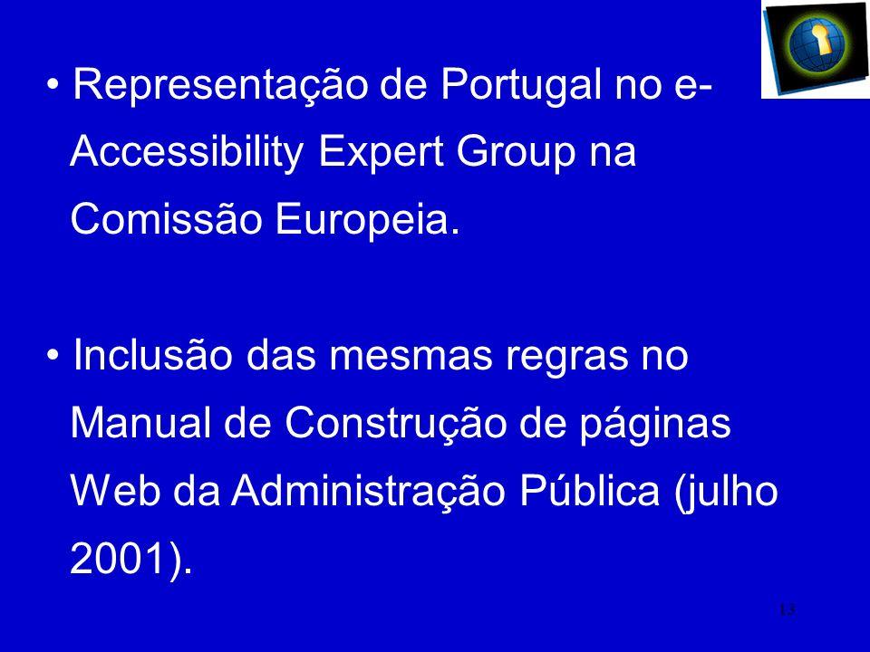 Representação de Portugal no e-