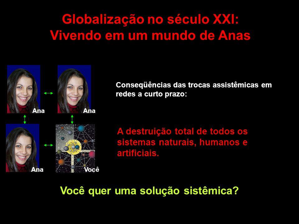 Globalização no século XXI: Vivendo em um mundo de Anas