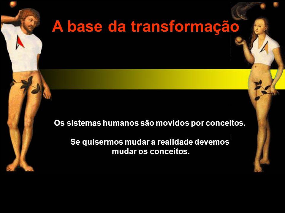 A base da transformação