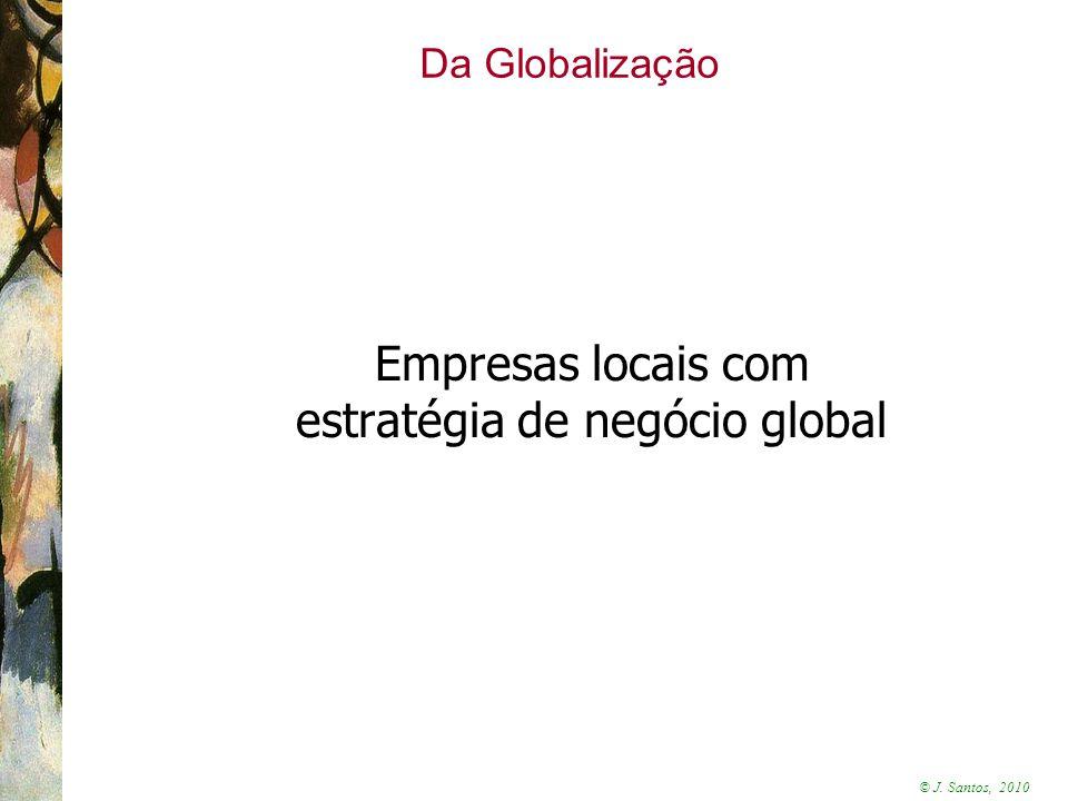 estratégia de negócio global