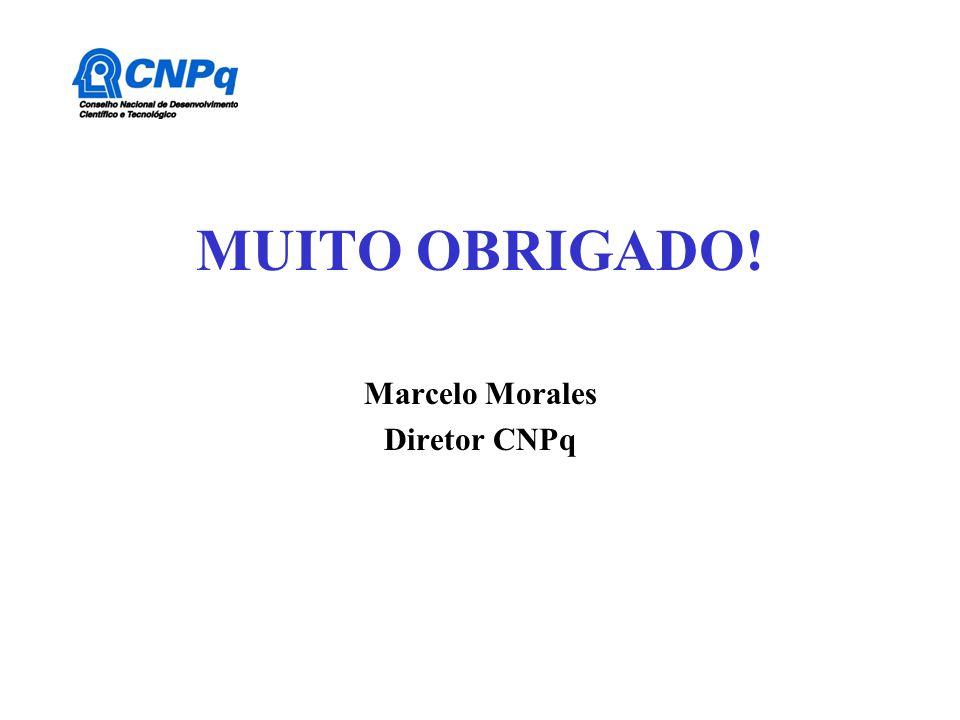 Marcelo Morales Diretor CNPq