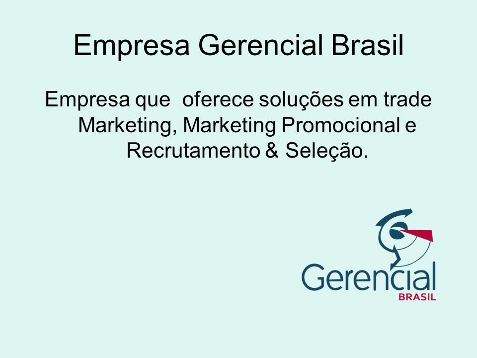 Empresa Gerencial Brasil