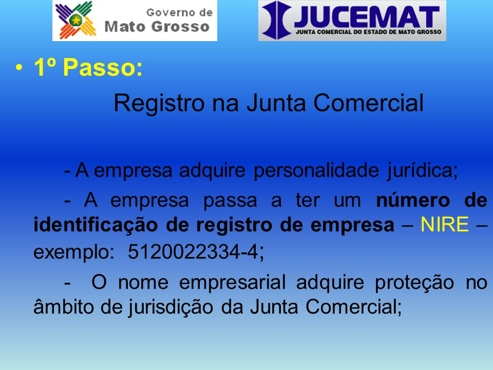 Registro na Junta Comercial