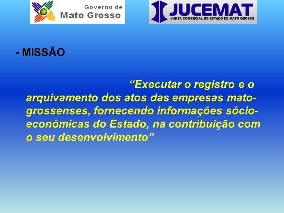 - MISSÃO