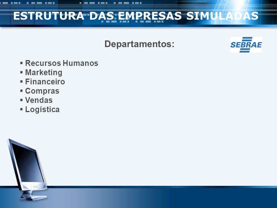ESTRUTURA DAS EMPRESAS SIMULADAS