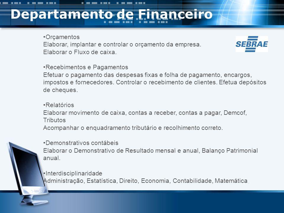 Departamento de Financeiro