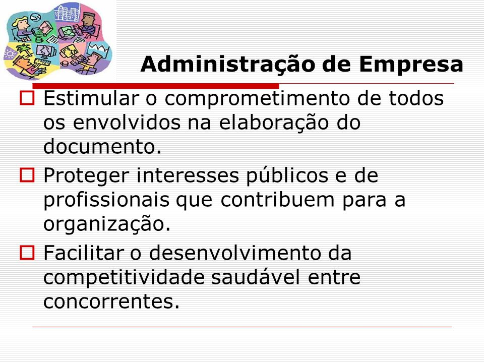 Administração de Empresa