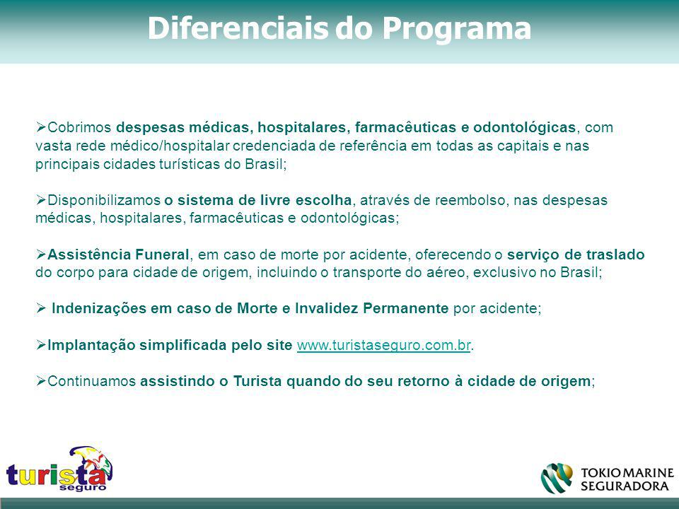 Diferenciais do Programa