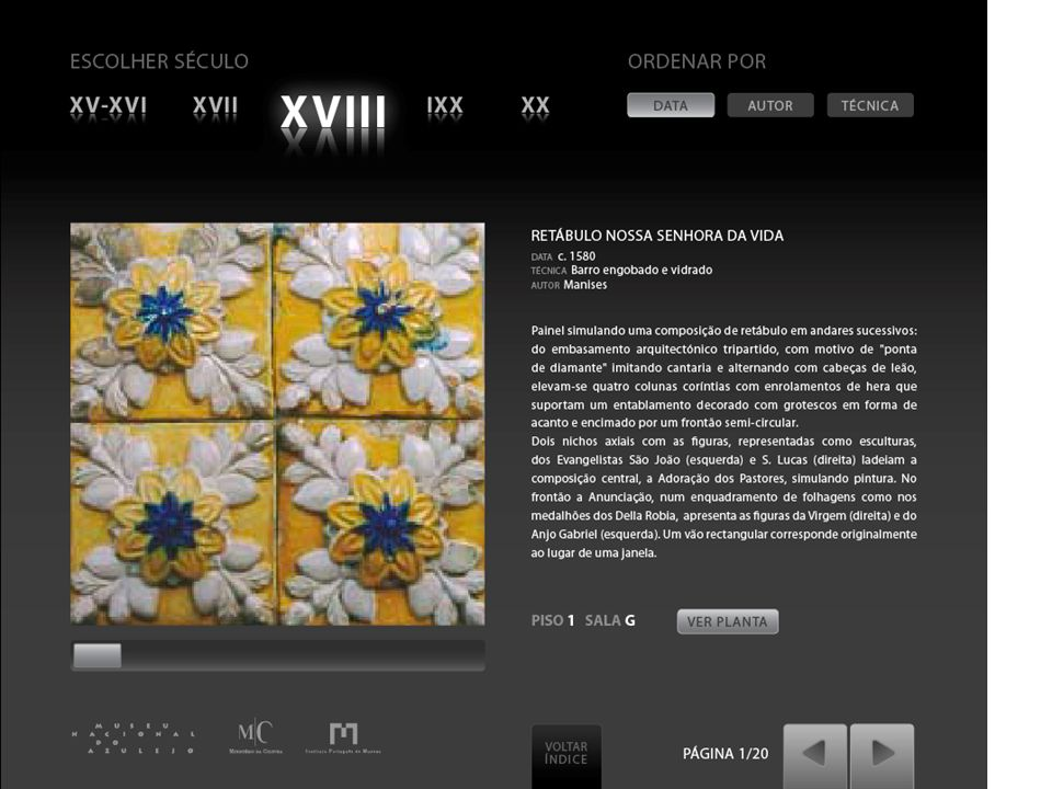 Caso: Museu Nacional do Azulejo