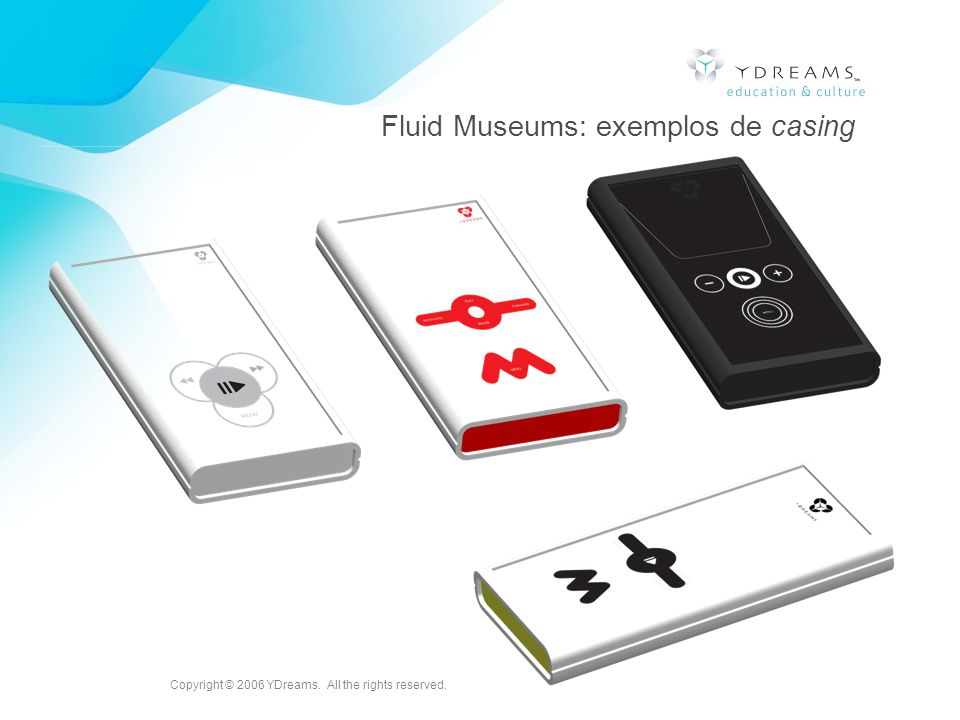 Fluid Museums: exemplos de casing