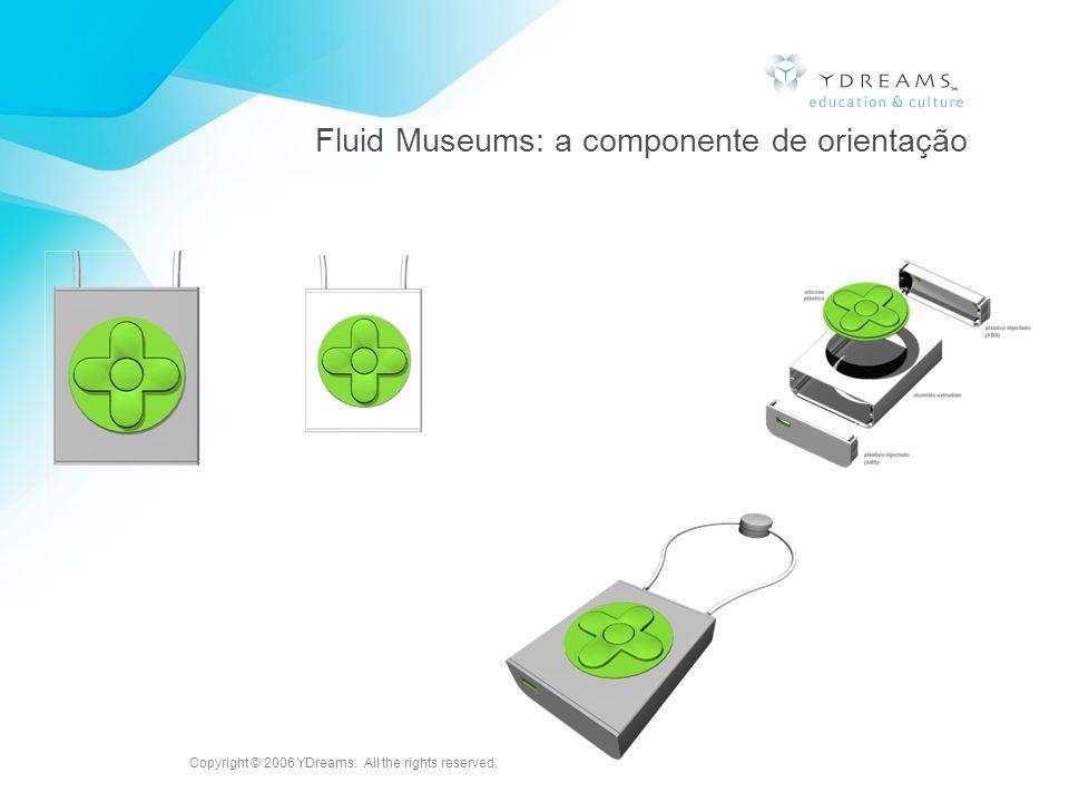Fluid Museums: a componente de orientação