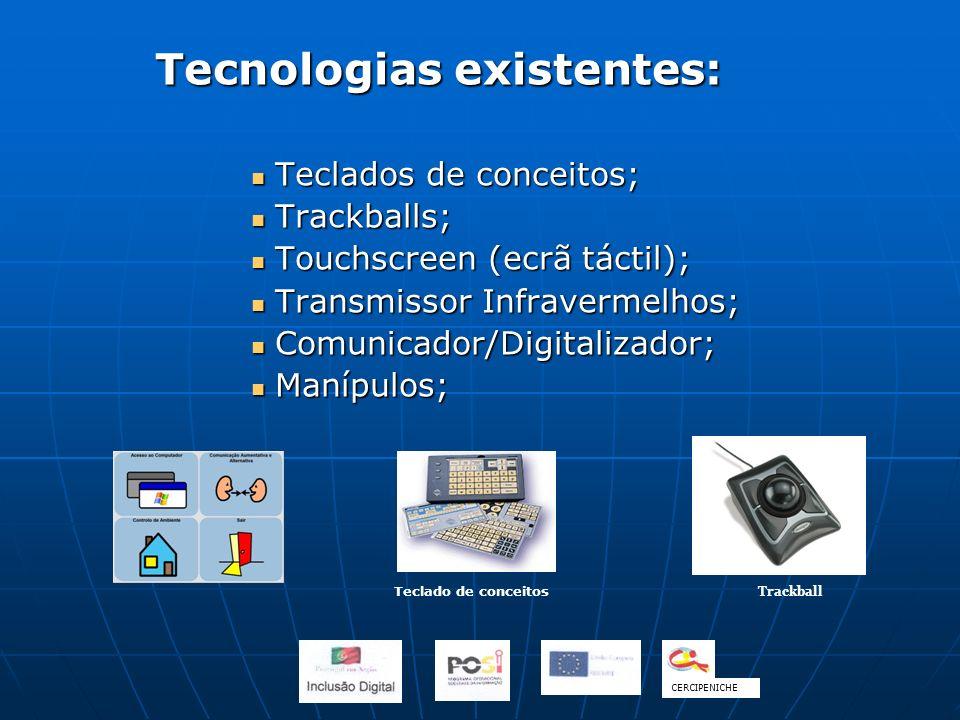 Tecnologias existentes: